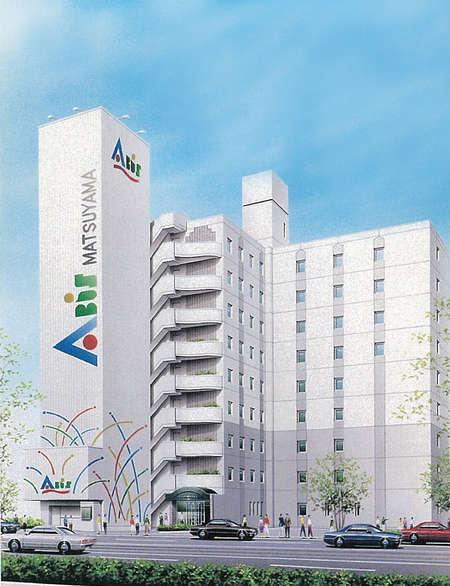 写真:県庁前 ホテルアビス松山