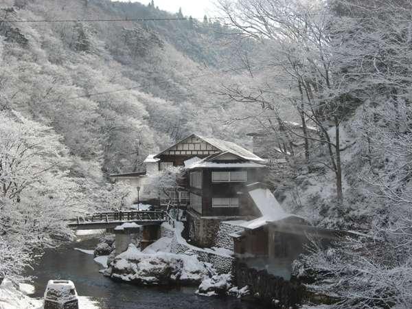 写真:大沢温泉 菊水館