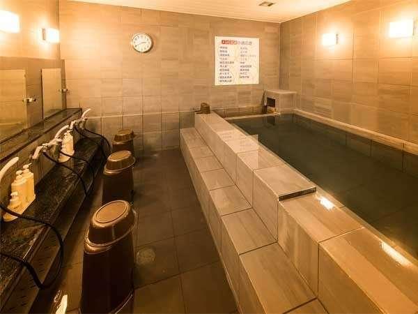 天然温泉「讃岐の湯」 スーパーホテル高松 田町 写真