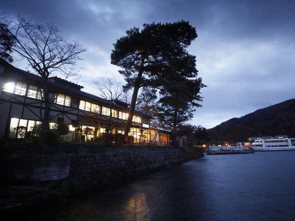 中禅寺温泉 ホテル湖上苑 写真