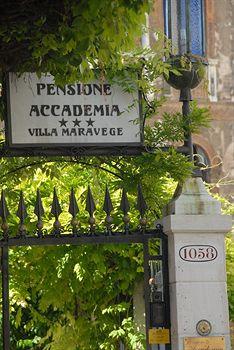 写真:ペンシォーネ アッカデミア ヴィラ マラヴェージュ