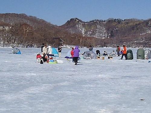 『大沼 氷上わかさぎ釣り』 [赤城山周辺]のブログ・旅行記 by