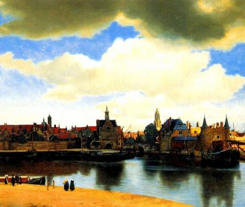 1996年3月から6月初め迄 オランダのデン・ハーグで<br />大フェルメール展Vermeerが開催されました。<br />当初この特別展が開かれているのを全く知らず、<br />前日寄ってみた所、予約が一杯で入れないと言うではないですか^^;<br />一瞬目の前が真っ暗になりましたが気を何とか取り戻し見学の交渉へ、すると今日は無理だけど明日なら何とか空きがあるというではないですか(涙)。と言う事で次の日の朝一番にここに来てチケットをゲットする為にしこの日は周辺の都市を観光してきました。この日のホテルはハーグH.S駅前に。気合入っていました!絶対にチケットを手に入れるぞww。<br />そして翌5月24日...朝5時早朝快調に起きれました...。<br /><br />☆期間限定の奇跡的なイベントが開催中なのも知らず、出会い頭に思わず勢いだけで乱入してしまった私でしたが、旅行記にあの時の23枚を並べてみますと改めて凄いものを観たな〜!っと感心してしまいます。あれから月日が10年以上も経ちました...。もし宜しければあの時の感動をバーチャル旅行記で少しでも分かちあって頂ければ幸いです。   shinesuni^0^/