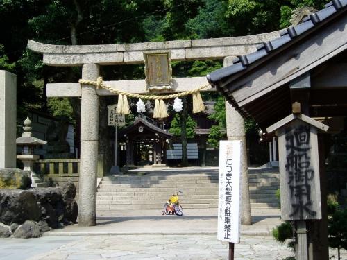 島根の旅(1) 美保神社と美保ヶ関灯台、大根島