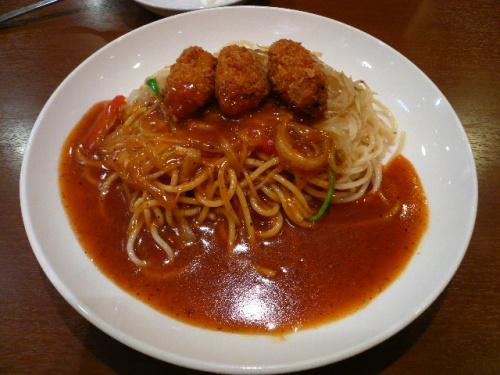 名古屋めし(あんかけスパゲッティ)