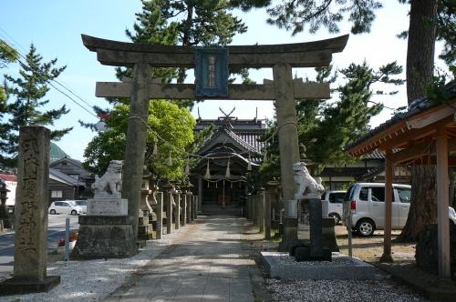 山陰海岸国立公園と天橋立観光:鷹野神社