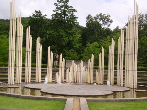 杉原千畝記念館と五宝滝など