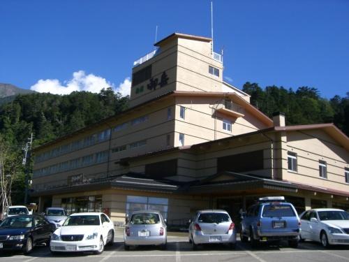 旅館御岳で星空観測