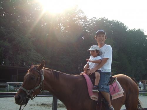 避暑地を求め、千本松牧場へ。