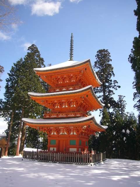 但馬妙見・名草神社2「吹雪の但馬・竹田城の旅 その7」