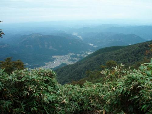 修験の山・後山