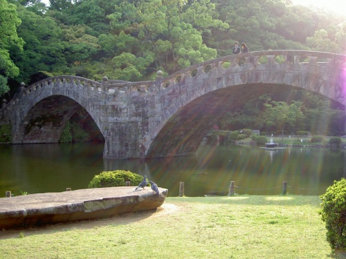 諫早の旅~諫早城・眼鏡橋を探訪