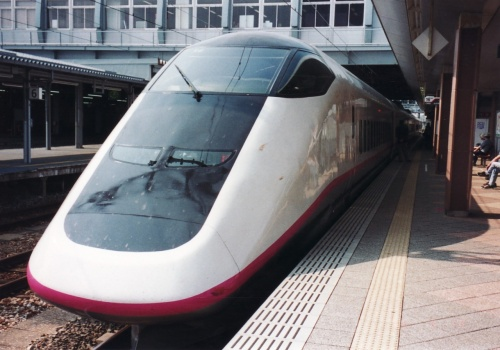秋田新幹線と由利高原鉄道