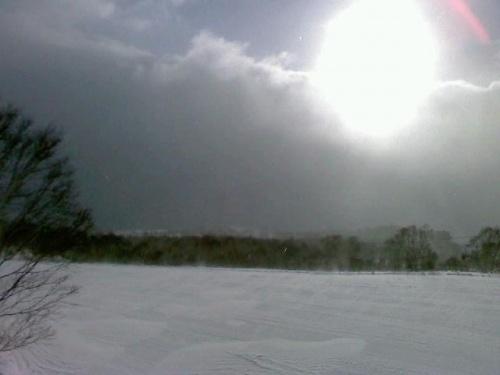 天候が不安な感じでも2回目のかぐらスキー場
