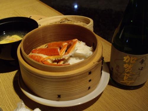 プチかに懐石を食べに羽咋へ 石川満喫ひとり旅9