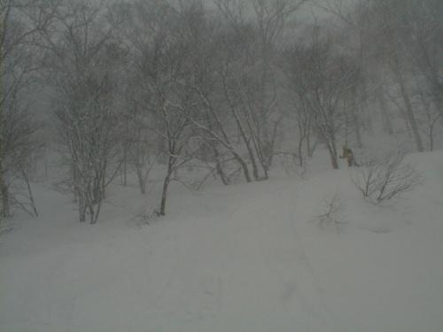 八幡平周辺 山岳スキー(2) 下倉スキー場周辺