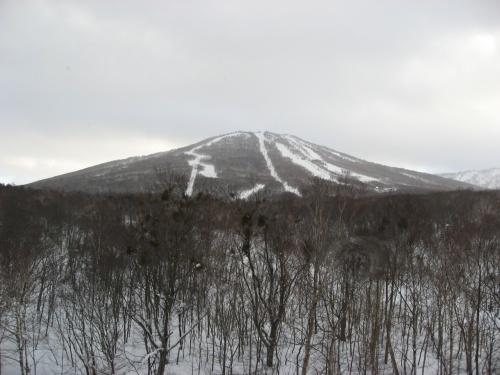 安比グランデでスキー