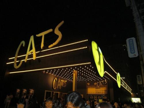 観劇−キャッツ