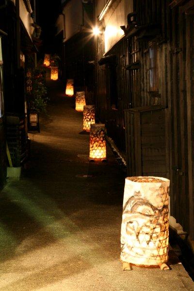 小さな旅●足助・たんころりんの夕涼み