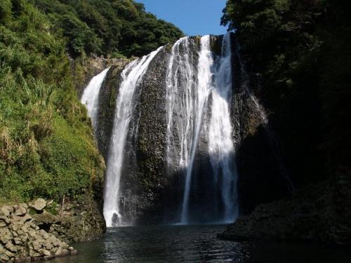 死のロード? 滝めぐりシリーズ89 龍門滝 鹿児島県加治木町