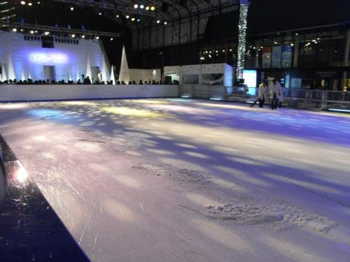 ダーリンが「赤坂サカスのリンクイベントのアイススケートショーで太田由希奈さんが滑るんだって〜。行きたいよおぉ」とおっしゃるので、久々にスケートしたいなと思っていた私も一緒に赤坂サカスのリンクに行ってきました。<br />ダーリンのアイスショーの感想他はこちら<br />http://blog.livedoor.jp/tozachan2000/archives/50735392.html<br /><br />ランチは赤坂BizTower1Fのポルトガル料理カステロブランコでいただきました。