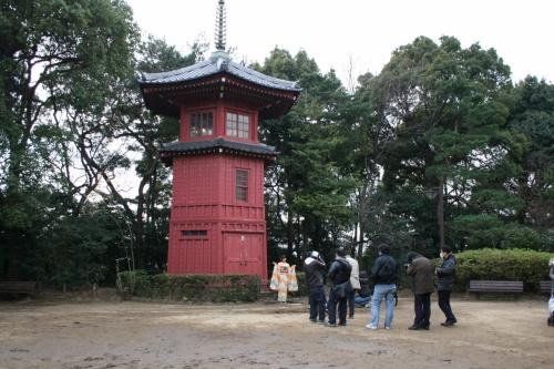 ☆つかぬ間の休息で哲学堂公園とかめ吉へ☆