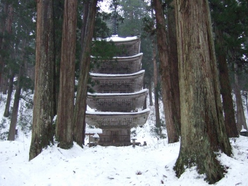 その2―羽黒山・鶴岡― 冬の東北縦断の旅2009
