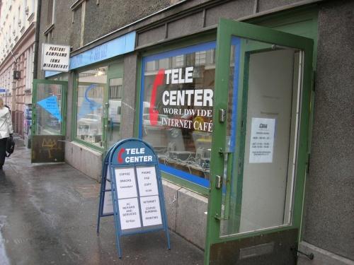 スウェーデンとフィンランド(その3 ヘルシンキ)<br />表紙の写真は、街中のとあるインターネットカフェです。