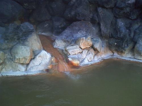 海に沈む夕日と、温泉と、焼き魚
