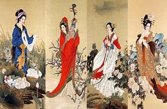 中国古代四大美人