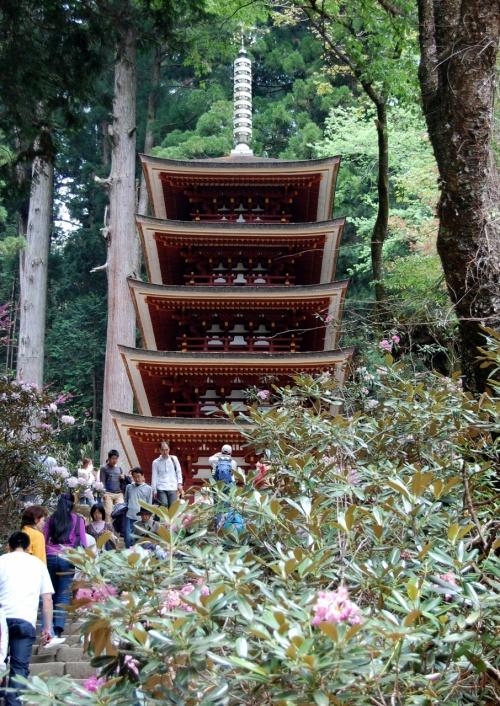 久しぶりの奈良(3)室生寺から長谷寺、そのまま山辺の道