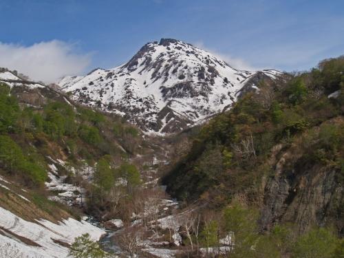 新緑と残雪のハイキング!新潟焼山へ!