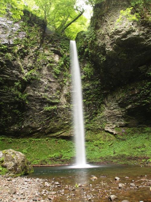 滝メグラーが行く26 諸鹿七滝 鳥取県若桜町