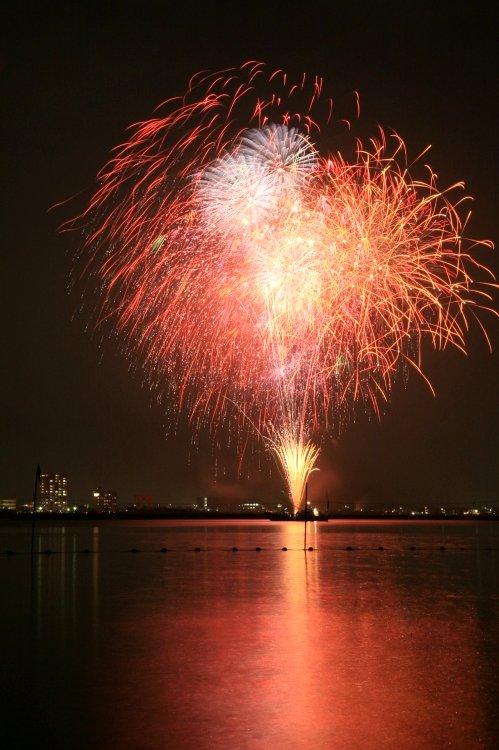 車で静岡 ★浜松市浜名湖・弁天島海開き花火大会 2009