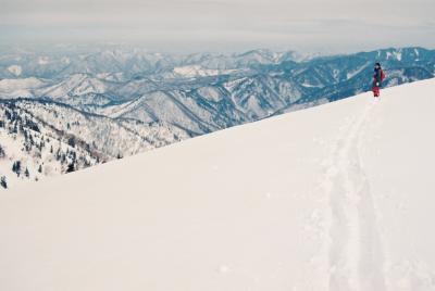 雪の会津駒ヶ岳(95・3)