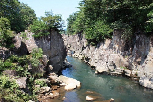 展勝地&厳美渓で観光&バードウォッチング [2009](1)