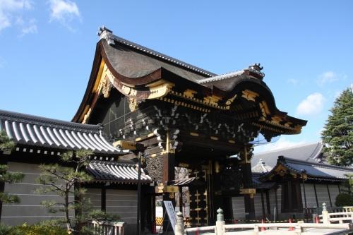 師走の京都散策:①西本願寺