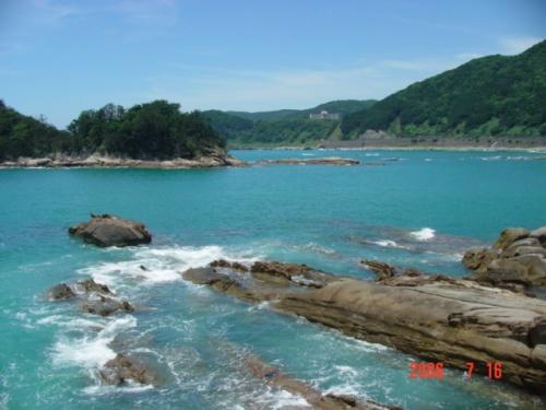 高知県 坂本竜馬の桂浜、竜串の海へ