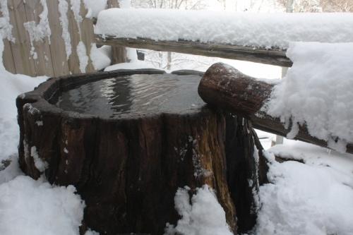 雪見の秘湯@新高湯温泉