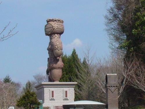 青森県 八戸公園の桜と是川遺跡