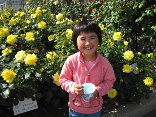 母の日なので 西尾農園へバラを見に出掛けてきました