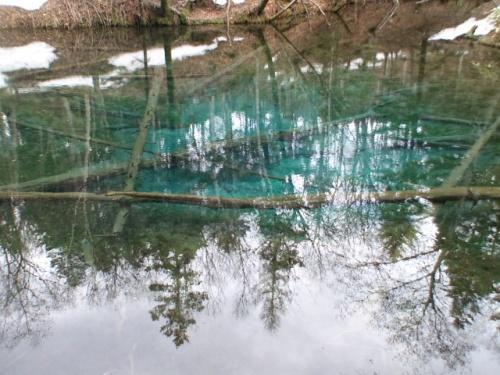 なまら北海道~★神の子池★ここだけの秘密「来運の水」