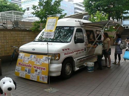 横浜スイーツ《マラサダワゴン》