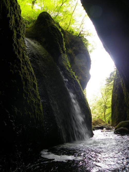 『シワガラの滝』は不思議な滝です◆2010年5月・兵庫県北部の滝めぐり【その7】