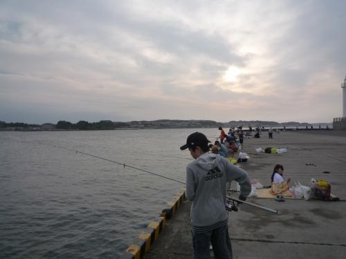 2010年06月 江ノ島で釣りをしてきました。