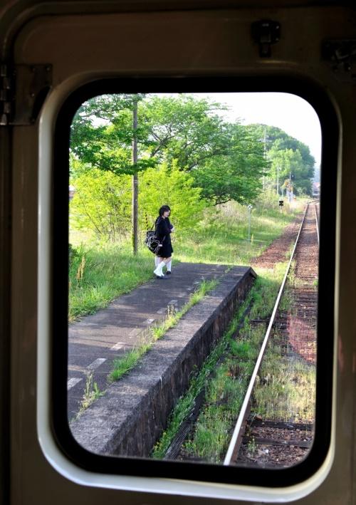 山陰本線 東萩駅~益田駅間 乗り鉄の旅 Ψ(・O・)Ψ (車窓編)
