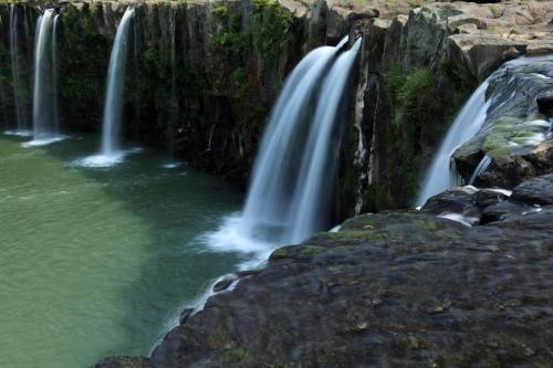 東洋のナイアガラ、原尻の滝 (日本の滝百選) / 大分県豊後大野市緒方町