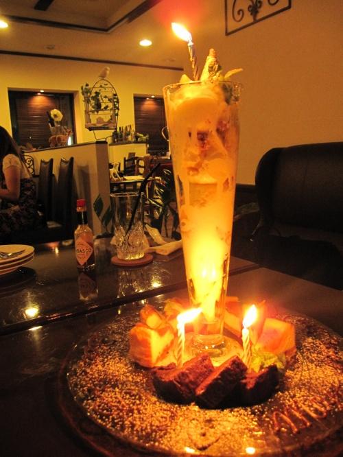 広島/福山グルメ Happy BirthDay! *CORK dish・yコルクディッシュ*