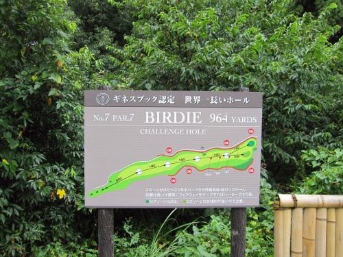 ギネスブック認定 世界一長いホール PGM皐月ゴルフ倶楽部佐野コース9月/2010