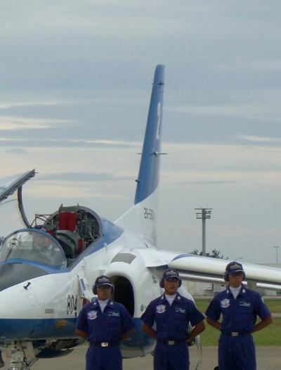 航空祭で平和を祈る in 小松